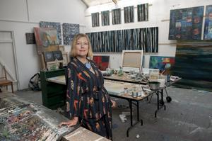 Search for father: Anne Crossey at her studio in Skibereen, West Cork. Photo by Daragh Mc Sweeney/Provision