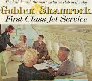 The Golden Shamrock class, as regularly advertised in holiday magazines throughout the 1960s