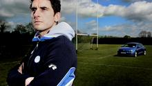 Man in demand: Bernard Brogan, with a Volkswagen in the background, for which he is a brand ambassador.