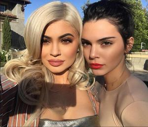 Kylie and Kendall Jenner on Instagram