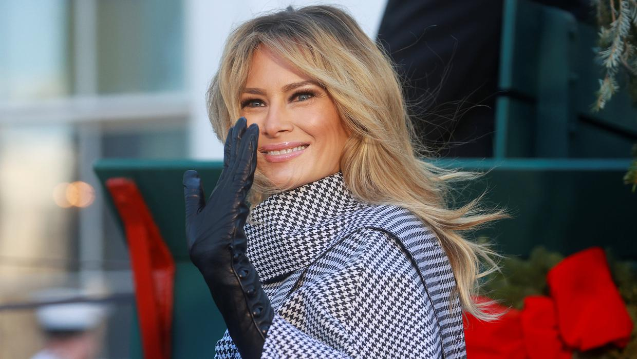 Melania Trump S Dramatic New Hairdo Is A Sure Sign Of A Woman Making A Fresh Start Independent Ie
