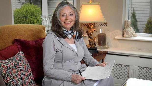 Dream analyst Marita Lyons at her home in Co Meath. Photo: Frank McGrath