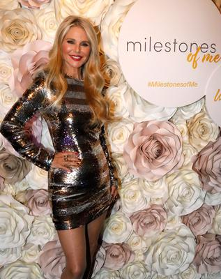 Christie Brinkley at her 65th birthday party. Photo: Getty