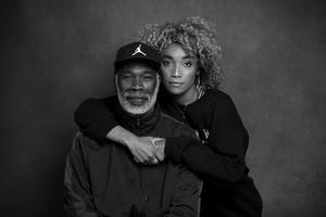 Gerald Kennedy with his daugther Erica Coady. Photo: Evan Doherty