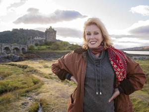 Joanna Lumley enjoys a super tour around the British countryside in 'Home Sweet Home'