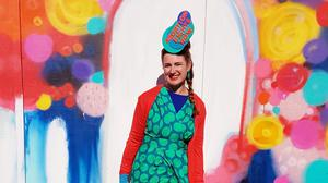 True colours: Writer and fashion activist Taryn de Vere says play is an important part of her creative process