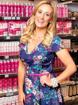Marissa Carter: The creator of Cocoa Brown One Hour Tan, currently the number one selling fake tan product in both UK and Ireland with three bottles sold a minute. Photo: El Keegan