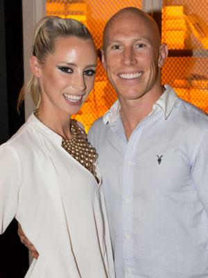 Love match: Deborah O'Leary and Peter Stringer