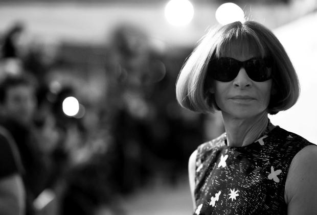 Head honcho: Anna Wintour has risked the wrath of 'Vogue' readers by putting Kendall Jenner on the cover of the magazine's September issue