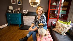Fiona Hall says decluttering is the ultimate act of self-care. Photo: Mark Condren