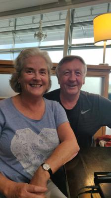 Married since 1980: Valerie and Paul Barry live in Dunmore East