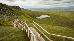 Cuilcagh's 'Stairway to Heaven', from The Sunday Independent
