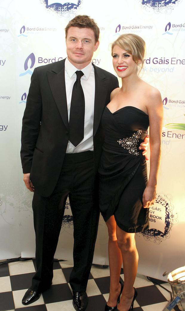 Do soulmates really exist: Brian O'Driscoll and Amy Huberman.