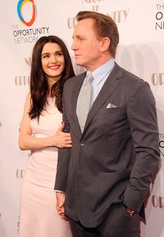Rachel Weisz and Daniel Craig.