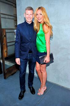 Patrick Kielty and Cat Deeley.