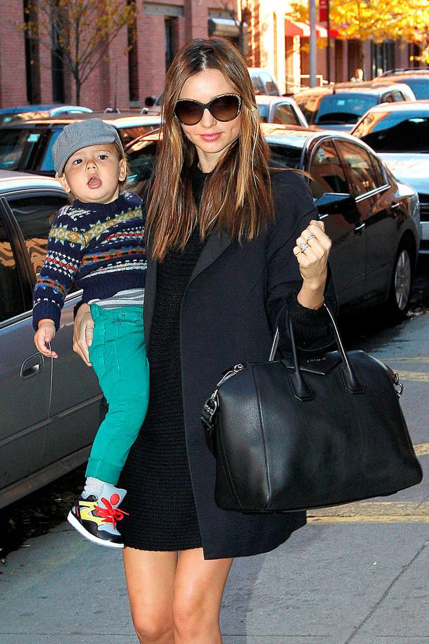 Supermodel Miranda Kerr has admitted having a full-time nanny to help with her son Flynn