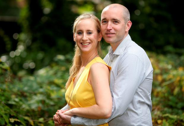 Caroline Grace-Cassidy and Kevin Cassidy