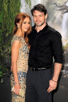 Una Healy of The Saturdays and her husband rugby player Ben Foden
