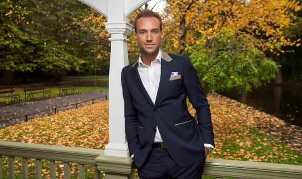 Calum Best has written a book which reveals the complexities of his relationship with his football icon dad George. Photo: Gareth Chaney Collins.