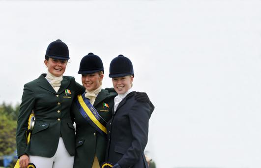 Tattersalls features the cream of Irish and foreign equestrian talent
