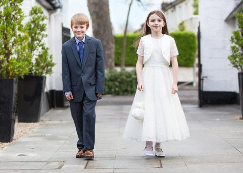 Arnotts' Communion wear.