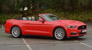 YOUR WISHES COME TRUE: The convertible Ford Mustang