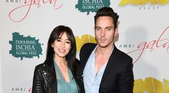 Opening their hearts: Jonathan Rhys Meyers and his wife Mara Lane who lost a baby through miscarriage