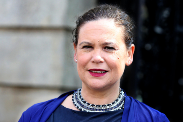 Criticism: Mary Lou McDonald has been slammed for implying Taoiseach Leo Varadkar didn't understand childcare issues. Photo: Tom Burke