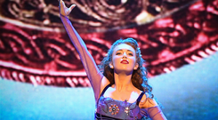 On tap of her game: Amy-Mae Dolan performing as the lead in Riverdance