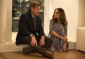 On the rocks: Sarah Jessica Parker and Thomas Haden Church in Divorce