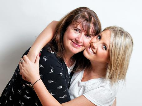 Carla and her mum