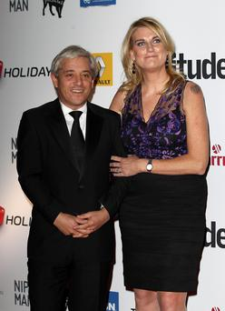 Unlucky for some: John and Sally Bercow's marriage is over after 13 years.