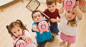 It's hard to believe in this digital age that piggy banks are still offered as freebies by banks looking to attract junior savers.