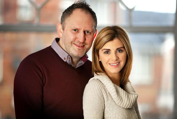 Donna Taggart and Colm McAughey met while working in the hospital in Omagh. Photo: Gerry Mooney