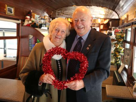 Keeping love alive: Mai and Frank Quaid have been married for 57 years. Photo: Damien Eagers