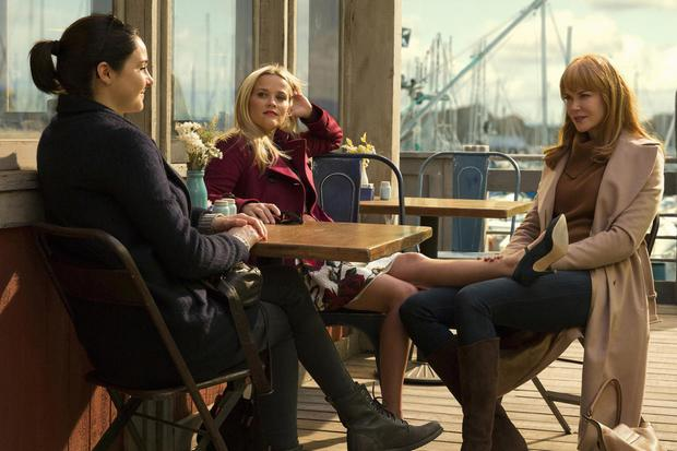 Midlife angst: Shailene Woodley, Reese Witherspoon and Nicole Kidman in Big Little Lies