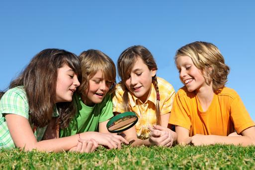 On the case: Science camps might appeal to the forensic boffins in the household