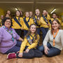 Girl power: Keri Clarke (10) with her mum Déarbhla (right) and Christine Cumiskey, Girl Guide Leader (left). Photo: Ciara Wilkinson