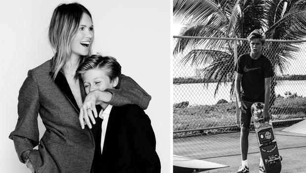 Australian model Elle MacPherson has spoken out about her struggle to her son, Cy eating junk food