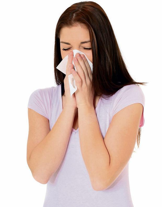Stay indoors when suffering from hay fever.