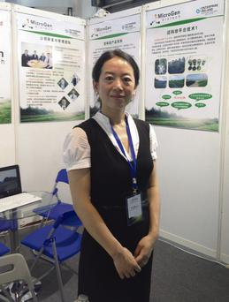 Microgen founder Chinese native Dr Xeumei Germaine