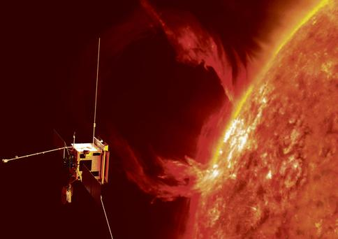The European Space Agency's next-generation sun explorer, Solar Orbiter, will be launched in 2017. It will investigate the connections and the coupling between the sun and the heliosphere, a huge bubble in space created by the solar wind