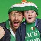Chris O'Dowd and Chris Rawle in Moone Boy.