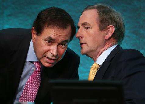 Enda Kenny and Alan Shatter