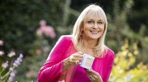 Miriam launched the 2021 Bewley's Big Coffee Morning Social for Hospice yesterday. (Photo: Tom Honan)