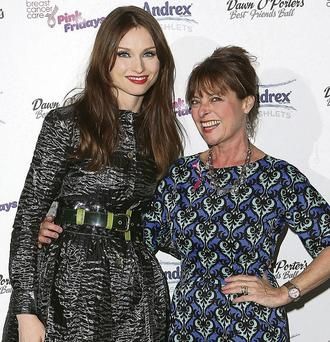 Sophie Ellis-Bextor with mother Janet Ellis