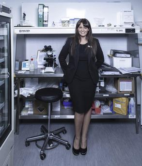 'Some patients embrace it, but other patients are often very upset to have to be here' — Martina Kelly, clinical director at the Clane Fertility Clinic. Photo: Kip Carroll