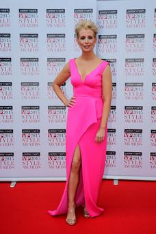Aisling O'Loughlin ath the 2015 VIP Style Awards