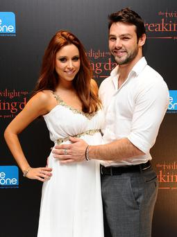 Una Foden with husband Ben