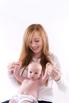Siobhan O'Dowd with daughter Charlotte